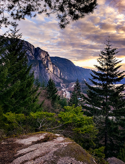 The Stawamus Chief, from Smoke Bluffs Park